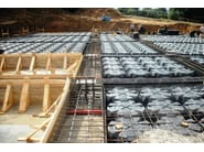 Disposable formwork for ventilated crawl spaces MODULO - GEOPLAST