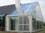Conservatory GLASS LINE - ATELIER ITALIA