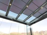 Glass and iron conservatory MODERN VERANDA DREAM - CAGIS