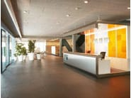 Acoustic wood wool ceiling tiles Heradesign® - Knauf AMF Italia Controsoffitti