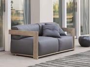 Fabric garden sofa CLAUD   Garden sofa - Meridiani