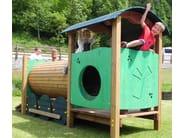 Play structure / Tunnel LOCOMOTIVA YOUNG - Legnolandia
