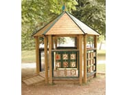 Pine Play structure / Playhouse for playground YOUNG | Playhouse for playground - Legnolandia
