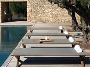 Acrylic garden daybed ELÌT - Ethimo