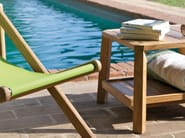 Low garden side table - Tavolino da giardino basso - PETIT CLUB