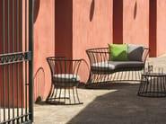 Iron garden armchair CLESSIDRA   Garden armchair - Ethimo