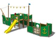 Wooden Play structure GOLETTA - Legnolandia