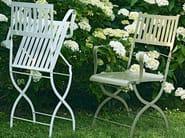 Folding garden chair