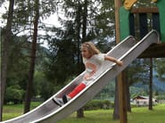 Stainless steel and wood Play structure