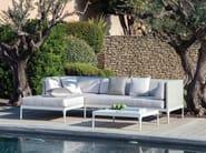 Sectional Ethimo LightWick® garden sofa INFINITY | Sectional sofa - Ethimo