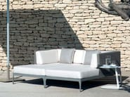 Sectional Ethimo LightWick® garden sofa INFINITY | Sectional sofa - Ethimo