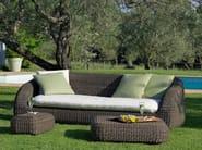 Ethimo EtWick® garden sofa