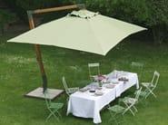 Offset rectangular Garden umbrella