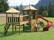 Pine Play structure / Slide