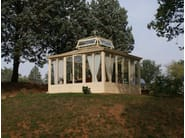 Glass and iron conservatory CONSERVATORY - CAGIS