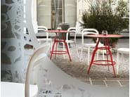 Stackable polypropylene chair JULIE - ALMA DESIGN