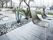 Stackable polypropylene chair X FOUR - ALMA DESIGN