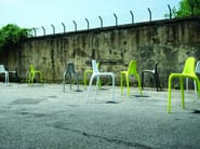 Stackable polypropylene stool NONÒ - ALMA DESIGN