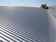 Insulated metal panel for roof TEK 28 - FIBROTUBI