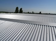 Insulated metal panel for roof TEK 28 - FIBROTUBI