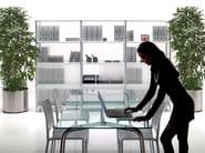 Freestanding modular bookcase