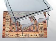 Rectangular crystal table