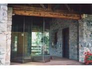 Frameless aluminium folding door GIEMME SYSTEM® - Giemme Home - GM MORANDO