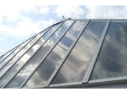 Polycarbonate canopy with Policomp®