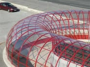 Polycarbonate tunnel with Policomp®