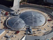 Shopping Center Siciliaю. PoliCarb Translucent Roofing