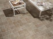 Porcelain stoneware outdoor floor tiles