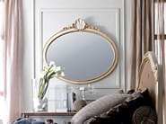 Oval framed mirror 2389 | Mirror - Grifoni Silvano