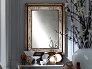 Rectangular framed mirror 2475 | Mirror - Grifoni Silvano
