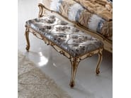 Classic style upholstered bench