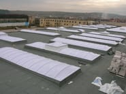 Continuous rooflight Skylights GBA - GBA PLASTIK