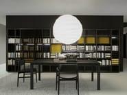 Open wooden bookcase STORAGE | Bookcase - Porro