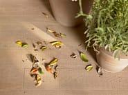 Outdoor wall/floor tiles with wood effect