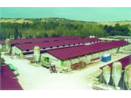 Insulated metal panel for roof ZOOTEC - ELCOM SYSTEM