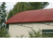 Insulated metal panel for roof TERMOCOPERTURE® RP/ST FLEX-AC/CB - ELCOM SYSTEM
