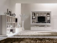 Open sectional wooden bookcase KEOPE - CorteZari