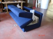 Sectional convertible sofa bed