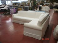 Sectional corner sofa bed