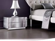 glossy silver leaf cat. C with: Art. 3.04 glossy silver leaf baseboard