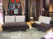 Sectional sofa with headrest