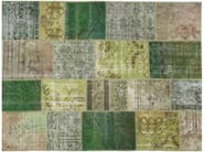 Handmade rectangular rug