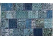Handmade patchwork rug ROCK | Rug - Sirecom Tappeti