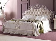 Double bed with upholstered headboard OLIMPIA - CorteZari