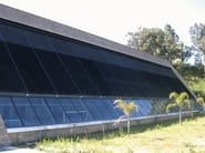 Steel and PVC solar shading ECO FIX - SIAMESI by CASA ITALIA
