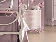 Poivre cat. B - glossy silver leaf details - poivre handles
