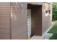 Composite wood profile plus profile 75x15 - plasticWOOD.it